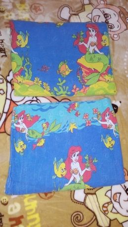 Детское постельное белье для девочки Русалочка 110*140