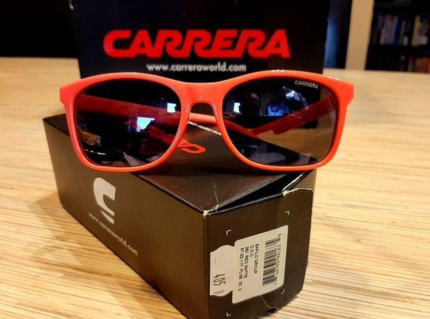 Okulary CARRERA ORYGINAŁ linia 3Bi folet czerwień komplet z pudełkiem!