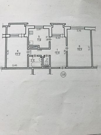 Продам 2-х комнатную квартиру (Славутич, Рижский квартал)