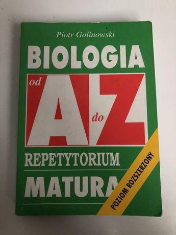 Biologia od A do Z repetytorium Matura poziom rozszerzony Kram