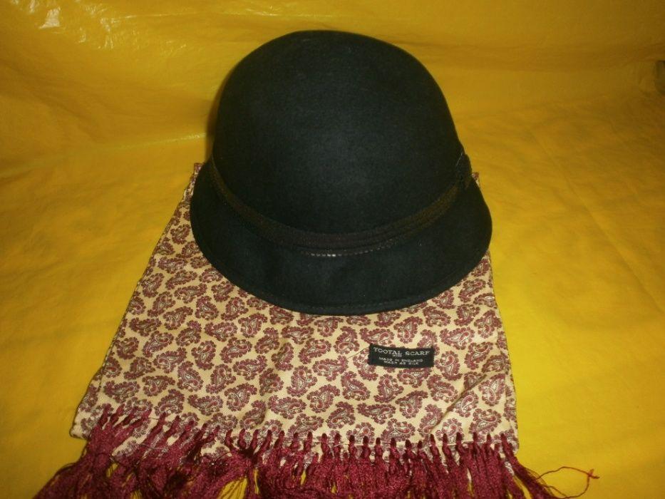 Шляпа и шарфик ( набор)