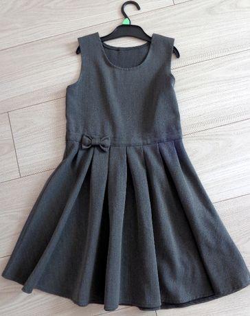 sukienka szara George 128