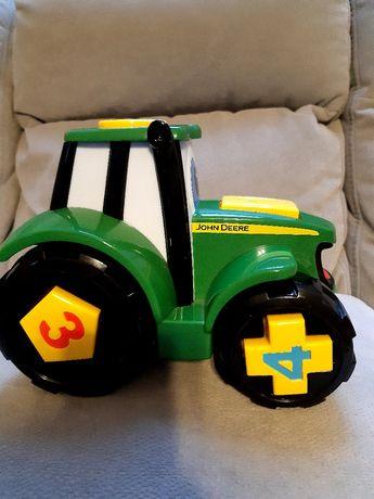 Traktor sorter kształtów, nauka liczb kolorów