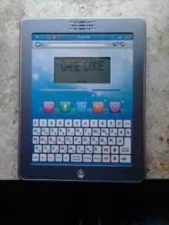 интерактивный обучающий дошкольный планшет