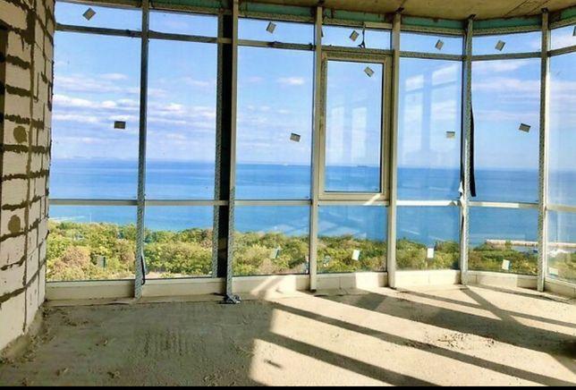 Пентхауз на Французском  с террасой и  потрясающим видом на море!