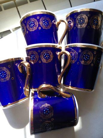 Продам чашки кобальтовые
