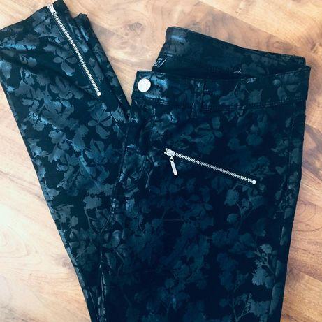 Fajowe spodnie
