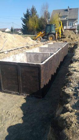 Zbiornik betonowy na gnojówkę 8 tys litrów szambo betonowe