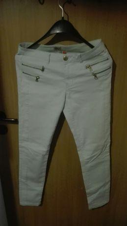 Spodnie damskie miętowe