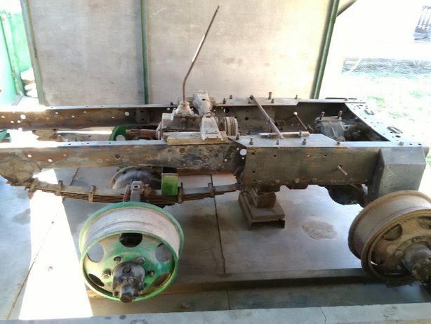 Трактор 4х4 саморобний