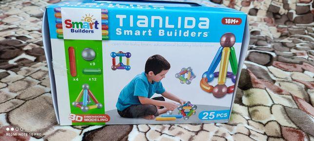 Дитячий магнітний конструктор