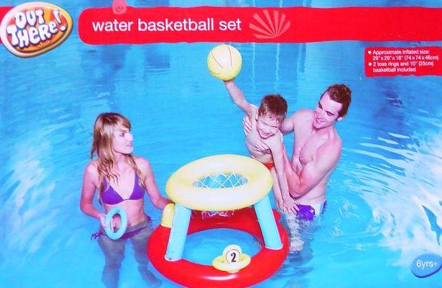 Zestaw dmuchany do wodnej koszykówki 74x74x46cm