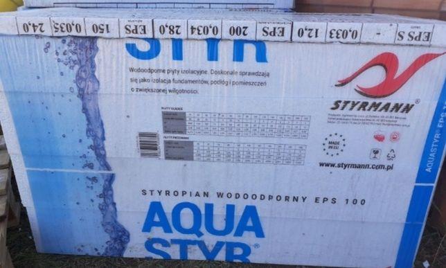 Styropian fundamentowy Aqua Styr EPS100-037
