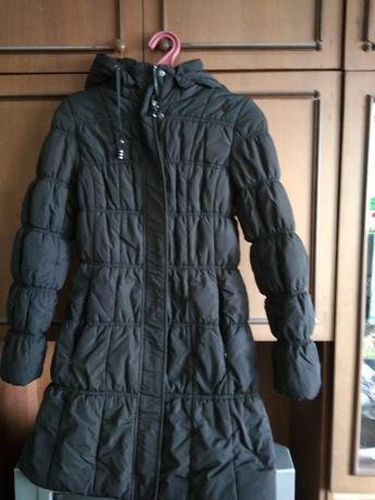 демисезонная куртка пальто черная daser