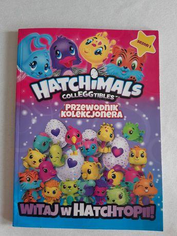 Książka sezon I Hatchimals przewodnik kolekcjonera