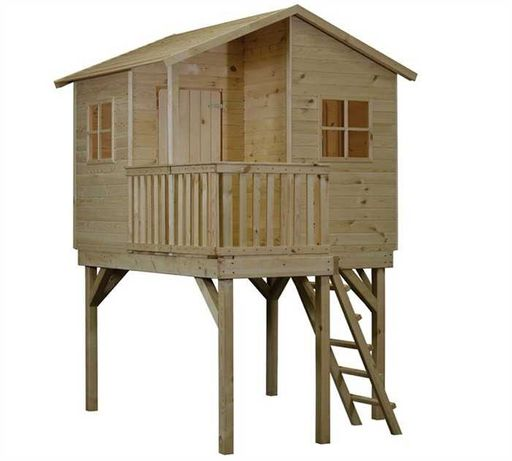 Детские игровые домики из дерева