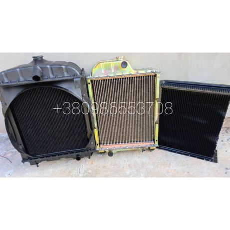 Радиатор водяной (сердцевина) МТЗ 80,82 ЮМЗ 6,Польша диффузор