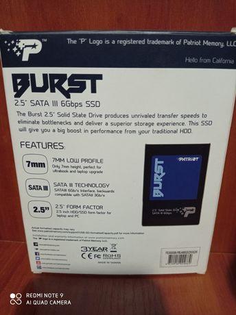 """HDD SSD Patriot, 120 Gb, sata 3, 2,5"""""""