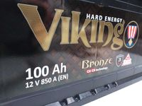Akumulator MegaTex Viking Bronze MV100, 12V 100Ah 850A