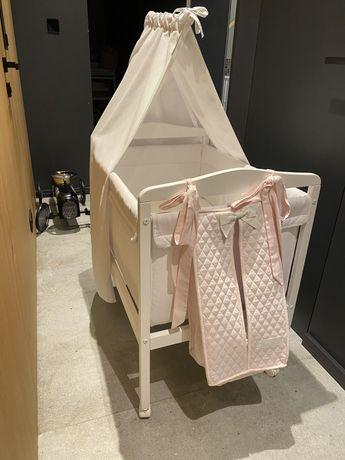 Zara Home łóżeczko dziecięce baldachim