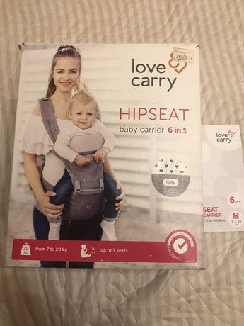 Love carry hipseat