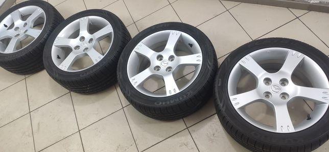 """Диски R-16 4*114,3, 6,5j """"Mazda""""; шины r-16 205/45 """"KUMHO"""""""