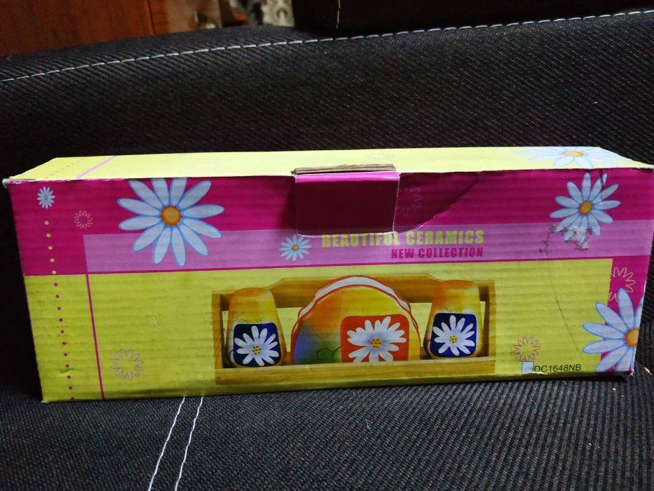 Керамический набор для приправ солонка Дачное - изображение 1