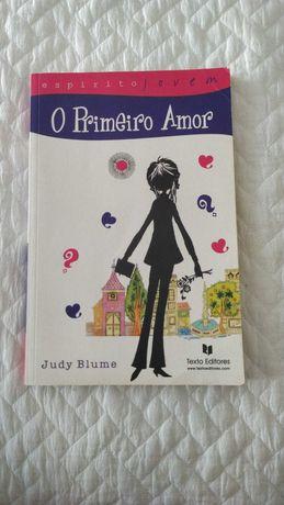 """Livro """"O Primeiro Amor"""" de Judy Blume"""