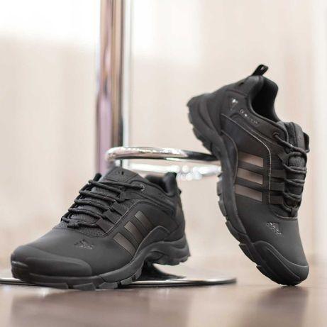 3274 Adidas Climaproof черные нубук кроссовки адидас климапруф