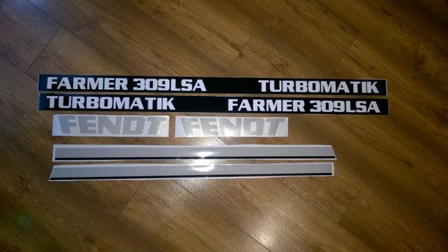 Naklejki Fendt Farmer 309LSA306f307 f308lsa ls