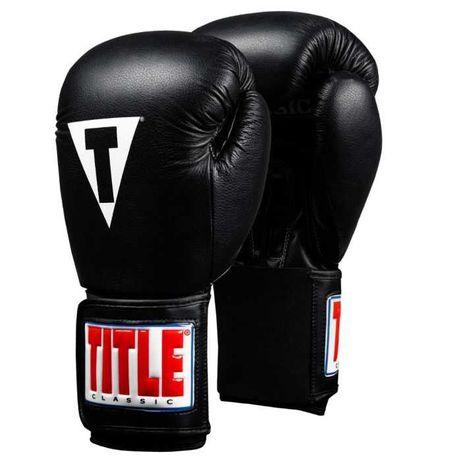 Боксерские перчатки Title 16oz