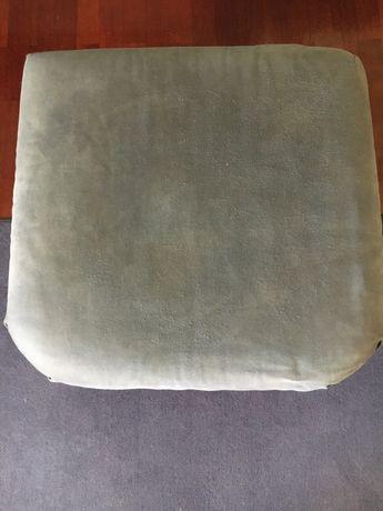 Canapé azul (repousa-pés)