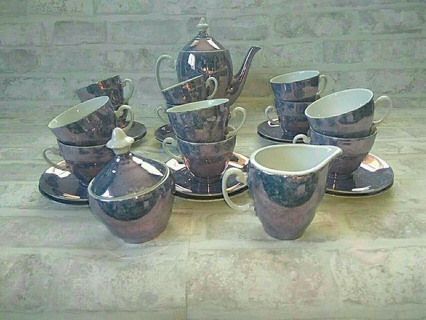 12 osobowy serwis do kawy , Porcelana Włocławek, filiżanki do kawy