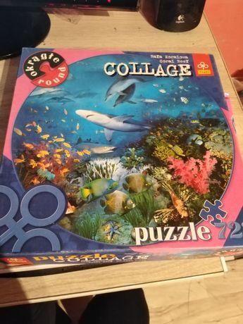 Puzzle niekompletne brakuje 2/3 części