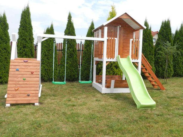 Meble ogrodowe domek dla dzieci plac zabaw huśtawka ślizg okazja