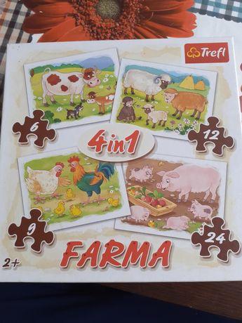 Puzzle Farma firmy Trefl