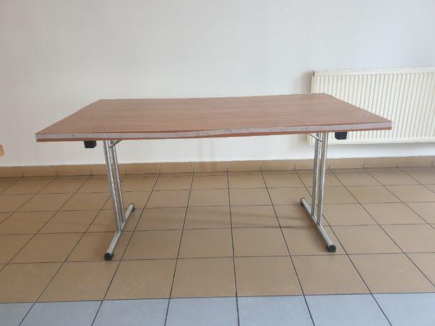 Stół składany z nogami chrom.