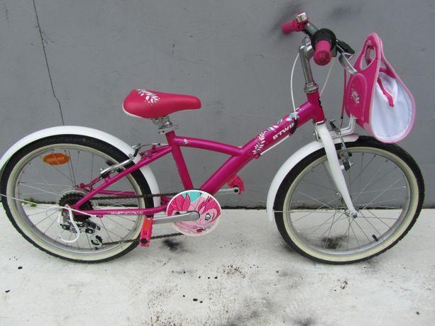 """Nr 788 Rower dziecięcy górski B - TWIN 20 """" różowy"""
