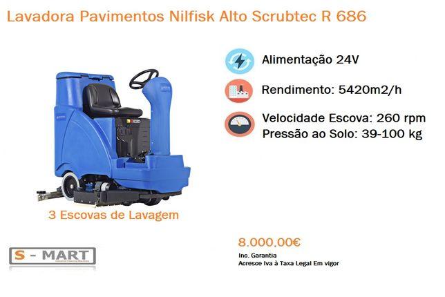 Lavadora Aspiradora Pavimentos Nilfisk Alto R686