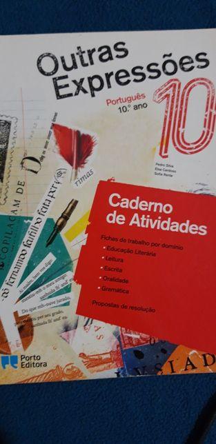 Caderno atividades 10ano português