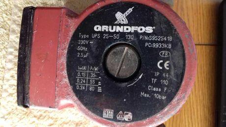 Насос водяний GRUNDFOS Type UPS 25-50 130/Циркуляционный  с кранами