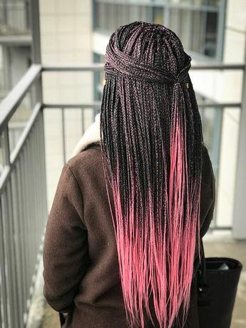 Плетение кос афрокосы с канеколоном
