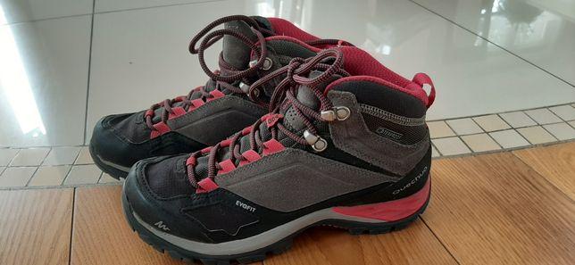 Buty dziewczęce roz 35, 36  DECATHLON górskie na jesień jak nowe.