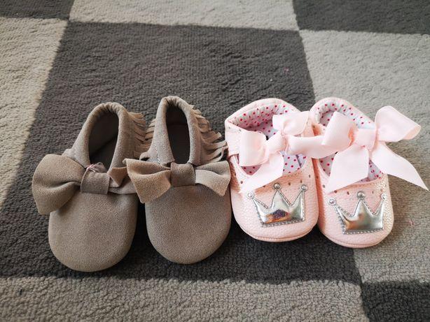 Buciki niemowlęce niechodki 3-6 mcy