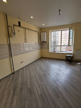 1 кімнатна новобудова з ремонтом Довженка