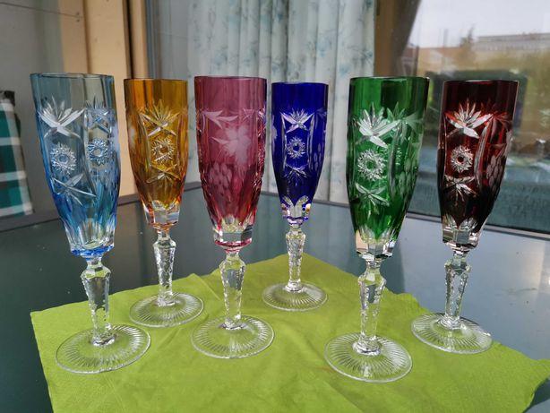 Хрусталь цветной ваза конфетница фужеры Nachtmann