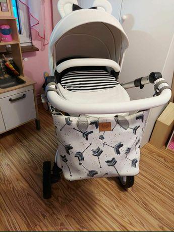 Wózek Mima Xari 2w1 dużo dodatków
