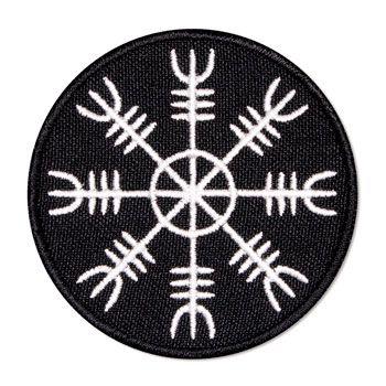 Elmo do Terror – Helm of Awe - Emblema bordado novo
