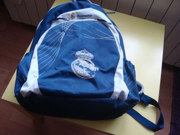 Plecak szkolny chłopięcy-Real madrid