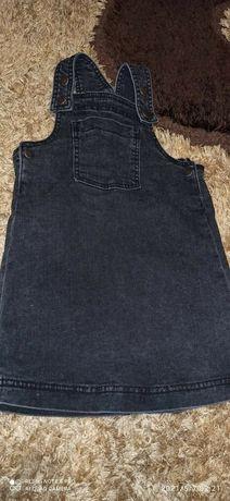 Jeansowa sukieneczka 98